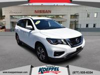 Designed with a spacious interior, this 2017 Nissan
