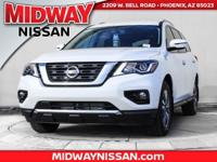 2017 Nissan Pathfinder SV 27/20 Highway/City MPGAwards: