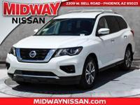 2017 Nissan Pathfinder S 27/20 Highway/City MPGAwards:
