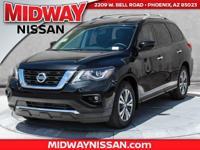 2017 Nissan Pathfinder SV 27/20 Highway/City MPGAwards: