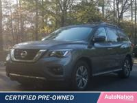 This CERTIFIED PREOWNED Pathfinder passed Nissan's
