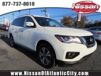 Look at this 2017 Nissan Pathfinder SV. Its Variable