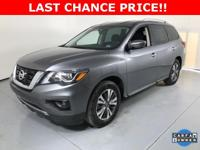 THIS 2017 NISSAN PATHFINDER IS IN GREAT CONDITION AND