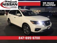 2017 Nissan Pathfinder SV Pearl White V6 4WD  CARFAX