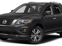 This 2017 Nissan Pathfinder 4dr FWD SV features a 3.5L