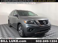 Options:  2017 Nissan Pathfinder Sv|Gray|All Performed