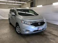CARFAX One-Owner. Silver 2017 Nissan Quest 3.5 SV FWD