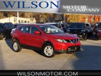 Ruby 2017 Nissan Rogue Sport S AWD CVT with Xtronic