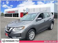 This 2017 Nissan Rogue S has an exterior color of Gun