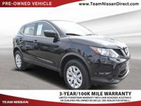 CARFAX One-Owner. Clean CARFAX. Black 2017 Nissan Rogue