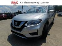2017 Nissan Rogue S Brilliant Silver AWD, ABS brakes,