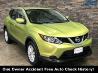 2017 Nissan Rogue Sport Nitro Lime Accident Free Auto