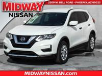 2017 Nissan Rogue S AWD. 32/25 Highway/City MPG