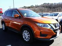 2017 Nissan Rogue Monarch Orange S NISSAN CERTIFIED,