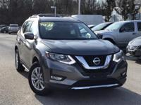 2017 Nissan Rogue Gray Odometer is 16210 miles below