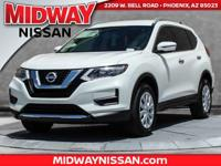 2017 Nissan Rogue S AWD. 32/25 Highway/City MPGAwards: