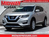 2017 Nissan Rogue S AWD. 32/25 Highway/City MPGAwards: