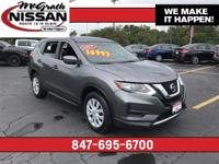 2017 Nissan Rogue S CARFAX One-Owner.32/25 Highway/City
