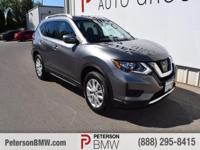 Our great looking 2017 Nissan Rogue AWD in Gun Metallic
