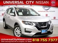 Certified. Silver 2017 Nissan Rogue S 4D Sport Utility