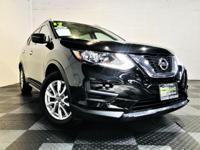 Our great looking 2017 Nissan Rogue SV in Black is a