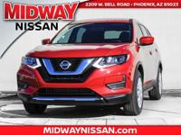 2017 Nissan Rogue S 33/26 Highway/City MPG  Options:  4