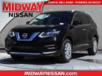 2017 Nissan Rogue S 33/26 Highway/City MPGAwards:  *