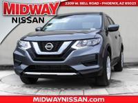 2017 Nissan Rogue S 33/26 Highway/City MPG  Awards:   *