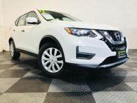 Our great looking 2017 Nissan Rogue SV in White is a