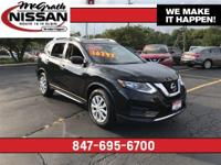 2017 Nissan Rogue S CARFAX One-Owner.33/26 Highway/City