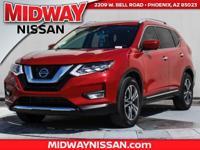 2017 Nissan Rogue SL 33/26 Highway/City MPG  Awards: