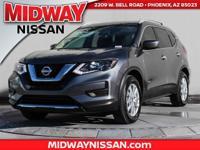 2017 Nissan Rogue SV 33/26 Highway/City MPG  Awards: