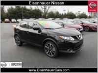 This 2017 Nissan Rogue Sport SL includes a push button