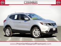 Clean CARFAX. Brilliant Silver 2017 Nissan Rogue Sport