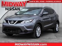 2017 Nissan Rogue Sport SV 32/25 Highway/City MPG