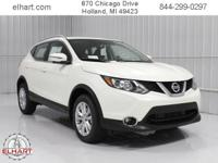 Options:  2017 Nissan Rogue Sport Sv|Pearl