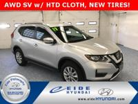 SAVE THOUSANDS off new on this 2017 AWD Rogue SV in