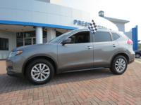 2017 Nissan Rogue SV FWD Gray CVT with Xtronic 2.5L I4