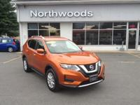 CARFAX One-Owner. Clean CARFAX. Orange 2017 Nissan