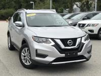 2017 Nissan Rogue SV Silver Odometer is 2486 miles