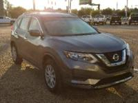 Brilliant Silver 2017 Nissan Rogue S FWD CVT with