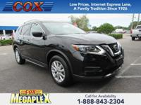 New Price! This 2017 Nissan Rogue SV in Magnetic Black