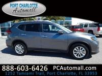 CARFAX One-Owner. Clean CARFAX. Gray 2017 Nissan Rogue