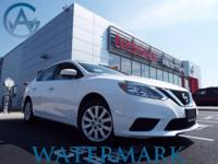 2017 Nissan Sentra S CVT, Charcoal Cloth, Watermark's