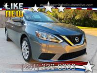 2017 Nissan Sentra. Has only 23000 miles. Fully loaded.