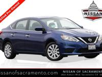 2017 Nissan Sentra Deep Blue Pearl New Price!