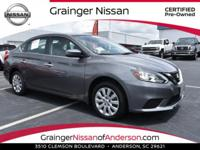 S trim. CARFAX 1-Owner, ONLY 1,655 Miles! EPA 37 MPG