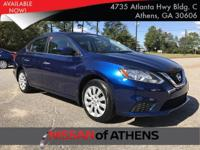 Look at this 2017 Nissan Sentra S. Its Variable