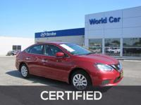 Nissan Certified, Excellent Condition, CARFAX 1-Owner.