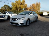 This outstanding example of a 2017 Nissan Sentra S is